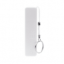 Power bank usb charger universal A5 - white - 2600 mah