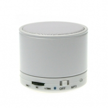 Bluetooth mini speaker white