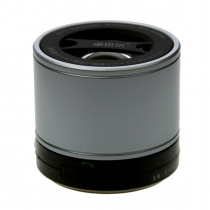 Bluetooth mini hifi subwoofer speaker silver by Zober