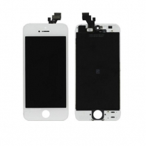 iPhone 5 LCD screen white - complete assembly - first price