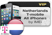 Netherlands T-Mobile All iPhones VIP
