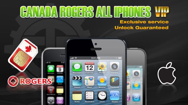 Canada Rogers All iPhones VIP