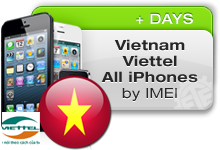 Vietnam Viettel All iPhones