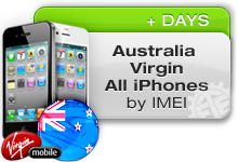Australia Virgin All iPhones