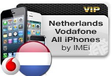 Netherlands Vodafone All iPhones VIP