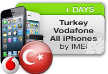 Turkey Vodafone All iPhones