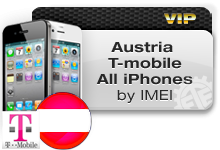 Austria T-Mobile All iPhones VIP