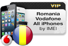 Romania Vodafone All iPhones VIP