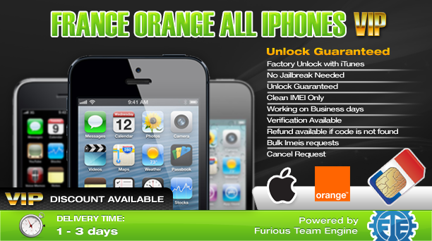 France Orange All iPhones VIP
