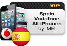 Spain Vodafone All iPhones VIP