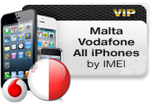Malta Vodafone All iPhones VIP