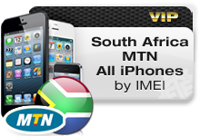 South Africa MTN All iPhones VIP