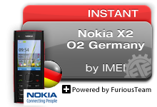 Germany O2 Nokia X2