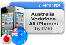 Australia Vodafone All iPhones