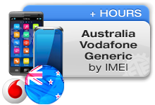 Australia Vodafone Generic