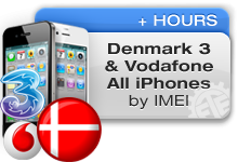 Denmark 3 | Vodafone All iPhones