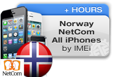 Norway NetCom All iPhones
