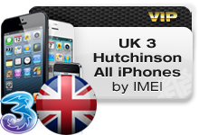 UK 3 Hutchison All iPhones VIP