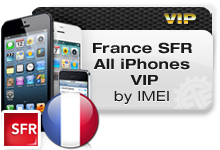 France SFR All iPhones VIP
