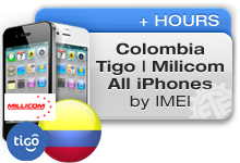 Colombia Tigo | Millicom All iPhones