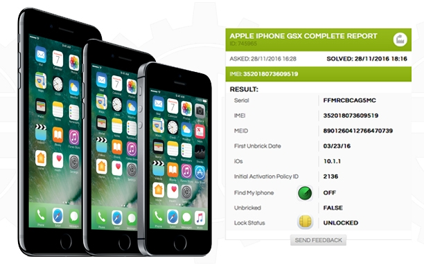 Apple iPhone GSX Complete Report