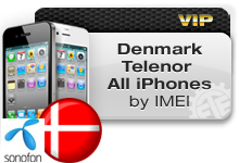 Denmark Telenor All iPhones VIP