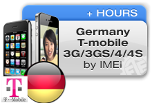 Germany T-Mobile iPhones 3G/3GS/4/4S