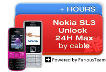 Nokia SL3 Unlock 24H MAX