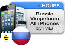 Russia Vimpelcom All iPhones