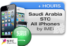 Saudi Arabia STC All iPhones