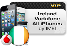 Ireland Vodafone All iPhones VIP