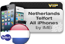 Netherlands Telfort All iPhones VIP