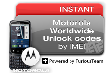 Motorola Worldwide Unlock Codes
