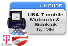 USA T-Mobile Motorola & Sidekick