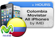Colombia Movistar All iPhones