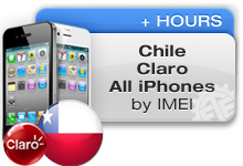 Chile Claro All iPhones