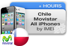 Chile Movistar All iPhones