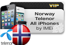 Norway Telenor All iPhones VIP