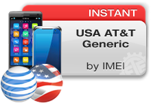 USA AT&T Generic Instant
