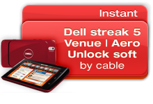 Dell Streak 5 | Venue | Aero Unlock Software