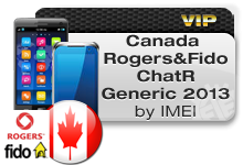 Canada Rogers | Fido | ChatR Generic 2013