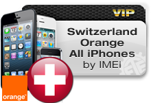 Switzerland Orange All iPhones VIP Instant