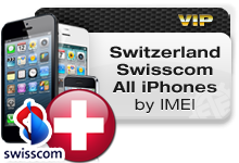Switzerland Swisscom All iPhones VIP