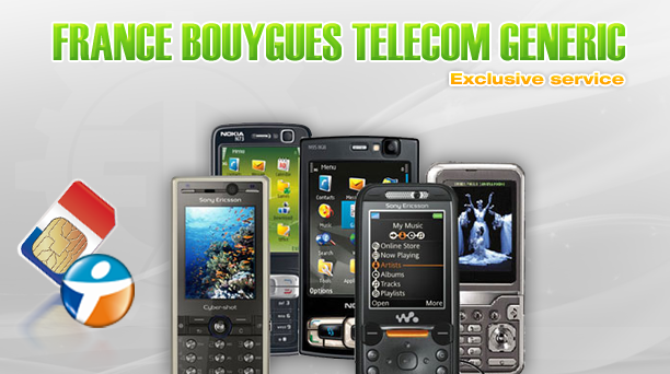France Bouygues Telecom Generic