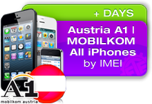 Austria A1 Telekom All iPhones
