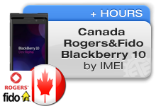 Canada Rogers | Fido Blackberry 10