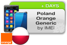 Poland Orange Generic