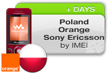 Poland Orange Sony Ericsson