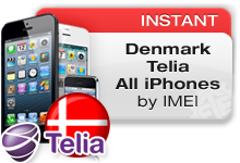 Denmark Telia All iPhones VIP