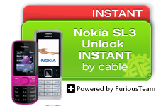 Nokia SL3 Unlock Instant